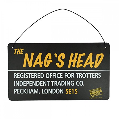 Only Fools & Horses Gift Tin Plaque 'The Nags Head'