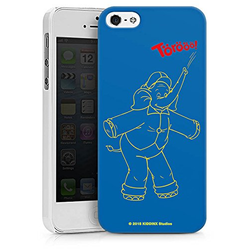 Apple iPhone X Silikon Hülle Case Schutzhülle Benjamin Blümchen Fanartikel Merchandise TÖRÖÖÖ! Hard Case weiß