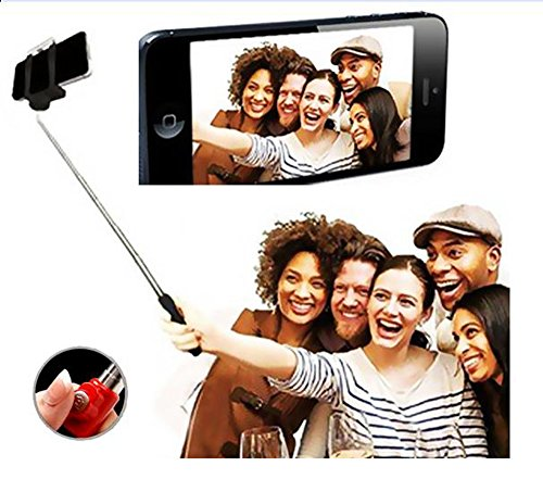 Aux-Wired-Selfie-Stick-Handheld-Monopod-Extendable-Fold-Selfie-Stick-for-Smartphones-and-Cameras-with-Shutter-Controls-Button-on-Handle