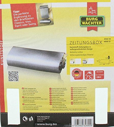 Burg-Wächter Zeitungsbox 4900 Weiß - 5