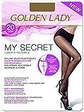 GOLDEN LADY My Secret 20 3P Collant, 20 DEN, Marrone (Daino 334B), Medium (Taglia produttore:3 - M) (Pacco da 3 Donna