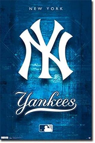 NEW YORK YANKEES Logo Poster (60.96 x 91.44