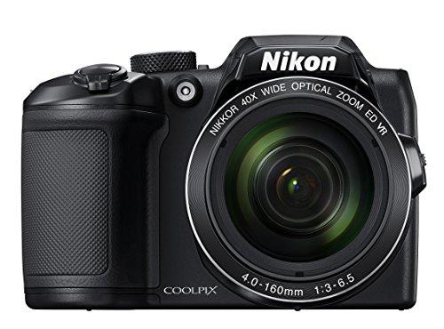 """Nikon COOLPIX B500 - Cámara Digital de 16 MP (4608 x 3456 Pixeles, TTL, 1/2.3"""", 4-160 mm) Color Negro"""
