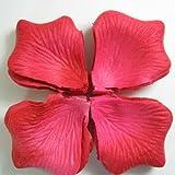 BestOfferBuy 1000Uds. Pétalos de Rosa en Seda Roja para Dec...