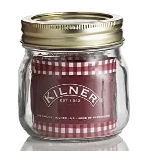 Kilner 250 ml Genuine Screw Top Jar (Pack of 6)