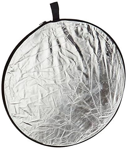 5-in-1 Faltreflektor, mit 5 wählbaren farblichen Oberflächen, 60cm