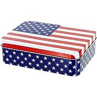 Promobo Aufbewahrungsbox Décor Amerikanische Flagge New York USA preisvergleich bei billige-tabletten.eu