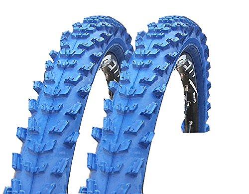2 x Kenda K829 Fahrrad Reifen 24 x 1,95 | 50-507 blau SET NEU