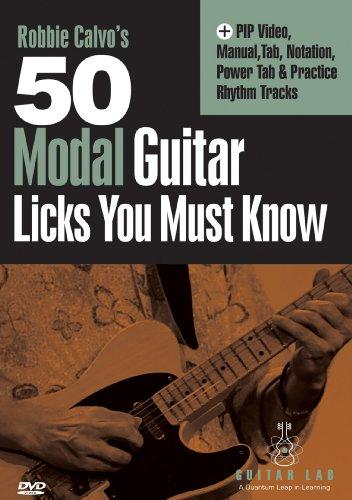 Preisvergleich Produktbild 50 Modal Licks You Must Know [DVD] [Region 1] [NTSC] [US Import]