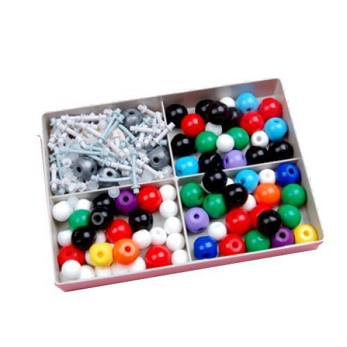 SODIAL (R) molekularen Modellsatz Kit - allgemeine und organische Chemie / kommt mit einem stabilen Kunststoffkoffer zur Aufbewahrung
