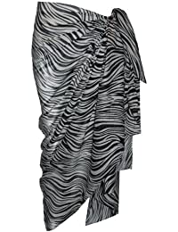 Animal Print Cotton Sarong