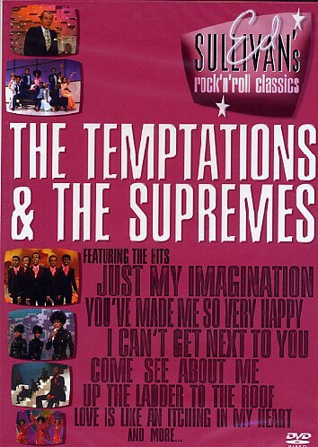 Preisvergleich Produktbild Various Artists - Ed Sullivan: The Temptations & The Supremes