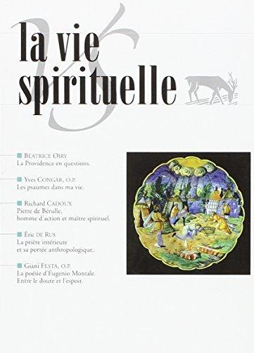 La Vie Spirituelle (Vs 775)