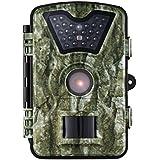"""Caméra de Chasse VicTsing Caméra de Jeu Caméra de Poursuite Sauvage avec 24 LED Noire, 8MP 720P HD Ecran LCD 2.4"""" Imperméable IP66 Étanche, Idéal pour Surveillance de Faune, Sécurité de Maison, etc"""