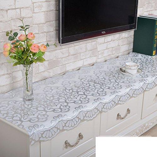 PVC ribaltamento tovaglia/ TV mobile pad/Non-usa e getta caldo tè tabella stuoia/ comodino/ tabella di gabinetto del vino-D 50x100cm(20x39inch)
