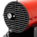 EBERTH 30kW Direkt-Ölheizgebläse (Fahrgestell, Überhitzungsschutz, elektronische Flammensicherung, integriertes Thermostat) - 5