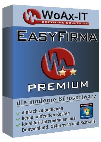 EasyFirma Premium - Rechnungssoftware, Lieferscheine, Gutschriften, Auftragsbestätigungen