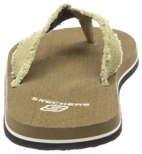 Skechers Tantric  BRN, Baskets mode garçon Marron-TR-SW1123