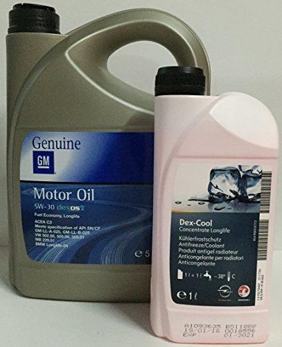 aceite-motor-gm-general-motor-opel-oil-5w30-5-litros-anticongelate-puro-gm-dexcool-1-ltr