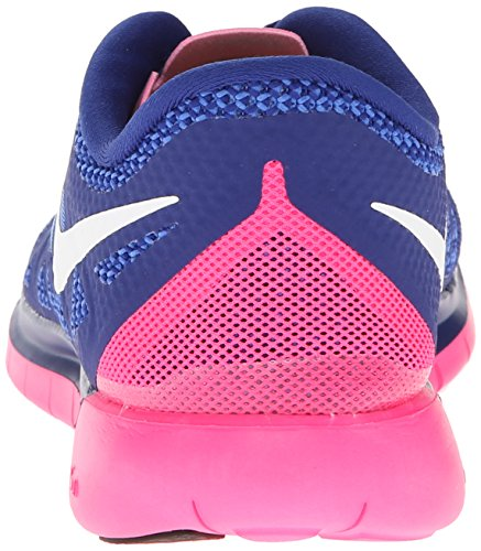 Nike Nike Free 5.0 Flash, Chaussures de running femme Dunkelblau/Pink