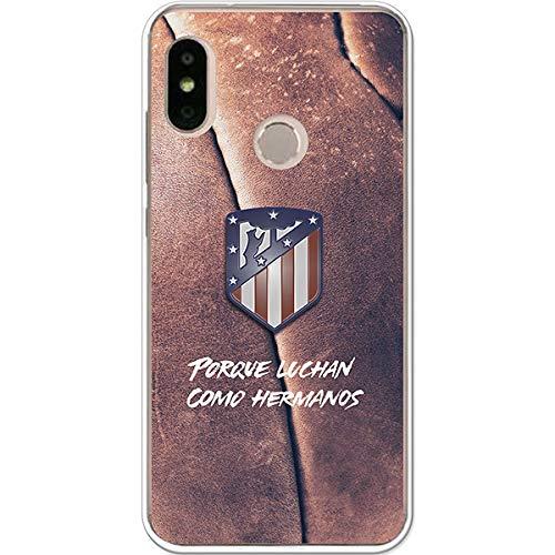 Atlético de Madrid Carcasa Luchan como Hermanos para Xiaomi Mi A2 Lite