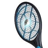 Vergessen Sie Insektenstiche! Jetzt ist der richtige Zeitpunkt, um einen idealen Tag im Freien zu genießen. Vernichten Sie störende Insekten in einer einzigen Bewegung. Die Schläger zur Fliegenbekämpfung produziert Elektroschockwellen, welche die Ins...