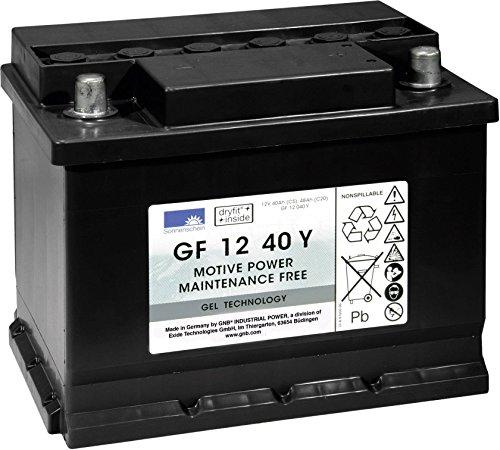 Batterie Plomb-gel 12 V 40 Ah GNB Sonnenschein GF 12 040 Y