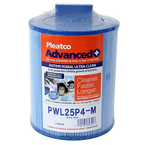 Filterkartusche Kartusche Whirlpool Filter Lamellenfilter Pleatco PWL25P4-M, Darlly 50653, Filter4Spas SC809, Wellis Whirlpools