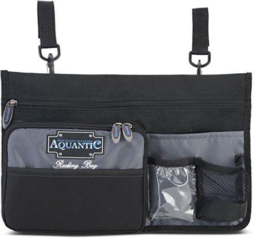 AQUANTIC Reeling Bag Reling-Tasche Köder Relingsrutenhalter Angel Zubehör Boots