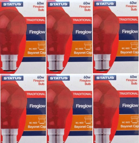 6-x-status-fireglow-effect-60w-clear-classic-bc-b22-light-bulbs-bayonet-cap-red-glow-gls-incandescen
