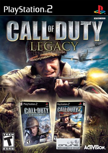 Call of Duty Legacy (inklusive Finest Hour, Big Red One) für PlayStation 2