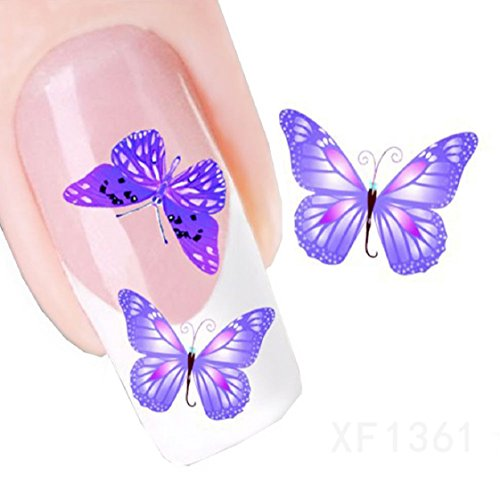 Vovotrade Nail Tip Art Transferts Sticker Decal