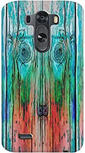 Kasemantra Wooden Plank Case For LG G3