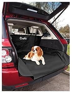 Kofferraummatte wasserdicht, bequeme Auto Hundematte in schwarz, Schonbezug ca. 144 x 170 cm