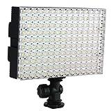 LED-Videoleuchte CN-B150, 980 Lux, Video Light, LED Panel für Camcorder, Kamera & Videokamera