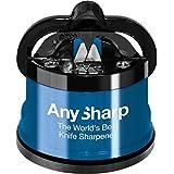 AnySharp ASKSBLK, AnySharp Knife Sharpener with PowerGrip, Blue (Home & Garden)