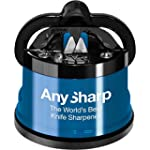 AnySharp Knife Sharpener with PowerGr...