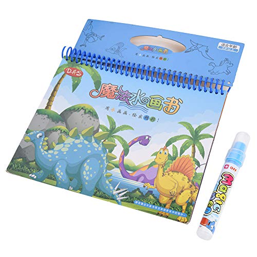 Zeichnung Buch Wasser Malbuch Doodle mit Magic Pen Malerei Board tragbare Kinder Zeichnung Malerei pädagogisches Spielzeug für Kinder(Tier ) ()