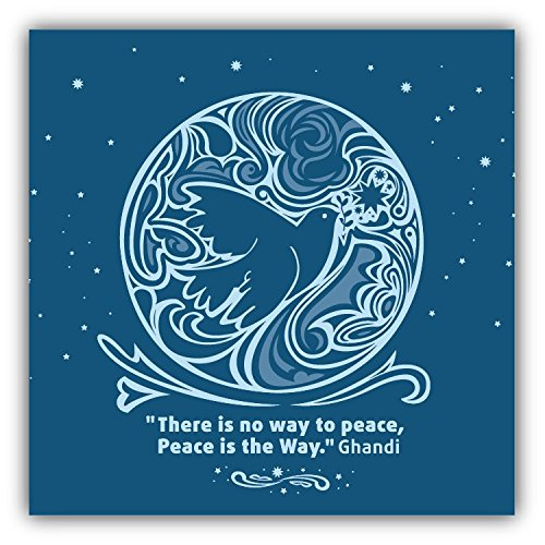bird-there-is-no-way-to-peace-greenpeace-slogan-hochwertigen-auto-autoaufkleber-12-x-12-cm