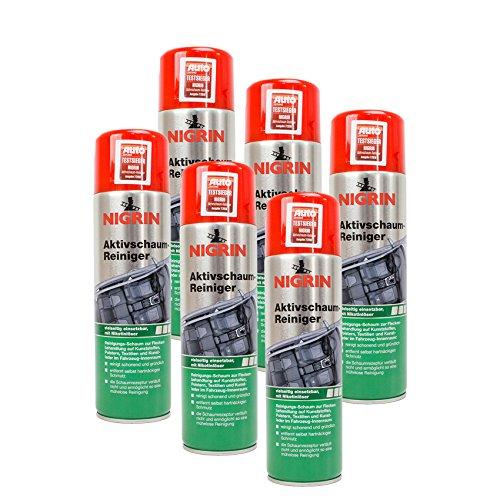 Nigrin 6X 74188 Aktivschaum-Reiniger 500 ml