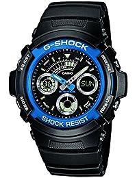 Casio G-Shock Montre Homme Analogique/Digitale Quartz avec Bracelet en Résine – AW-591-2AER
