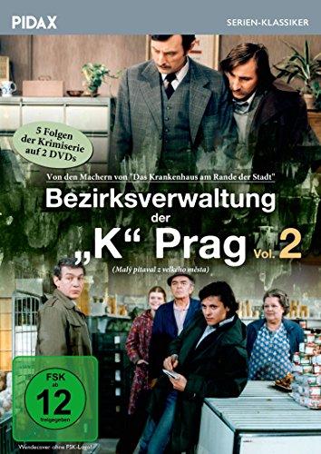 Bezirksverwaltung der K Prag, Vol. 2 (Maly pitaval z velkého mesta) / Weitere 5 Folgen der erfolgreichen Krimiserie (Pidax Serien-Klassiker) [2 DVDs]