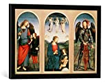 Gerahmtes Bild von Pietro Perugino