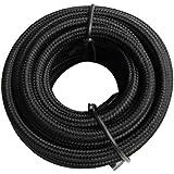 Tibelec 073620 Câble électrique textile Noir