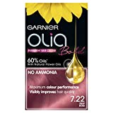 Garnier Olia Bold Deep Rose Permanent Hair Dye Number 7.22