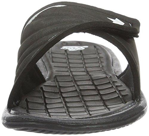Lico Malediven, Chaussures de Plage et Piscine Femme Noir (Schwarz/Weiss)