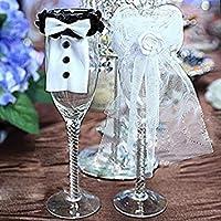 Couleur :  Blanc et Noir Matière :  haute  Elastique-Rubans élastiques Bouton-fin en résine   utilisations :  peut être utilisé comme décoration de mariage Rouge bouteille de champagne, jeux, généralement à la maison peut également être utilisé pour ...