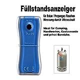Gaslevel GasFüllstandsanzeige Gasstand Gasflasche GasChecker GasLock
