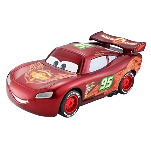Disney Pixar Cars Neon Racer Light-Up Lightning McQueen