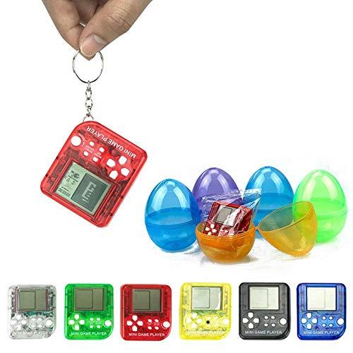 AOLVO Tetris Spiel, 26 in 1 Mini-Spiel-Spieler, Anti-Stress, Tetris, Handheld-Spiel mit Schlüsselanhänger, tragbares Mini-Spiel für Kinder und Erwachsene (Tetris-spiel Handheld)